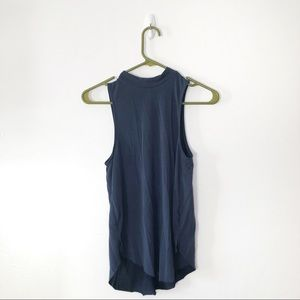 """American Eagle Blue Soft & Sexy """"Suede' Tank Top"""